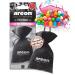 Автомобильный освежитель воздуха AREON мешочек с гранулами Bubble Gum черный