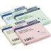 Блок бумаги для записей, 76х76 мм, 100 л., 4 цв. ассорти  (12 шт./уп.)
