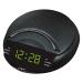 Годинник мережевий з радіо VST-903-2 (настільний, LED-диспл., будильник, живлення від 220В)