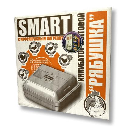 """Інкубатор цифровий """"Рябушка"""" Smart plus 70 яєць ( новий терморегулятор)"""