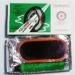 Латки (рем. комплект) для камер та гумов. виробів (овальна 10*4см) з клеєм
