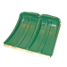 Лопата снігоприбиральна пластмасова  мала 375*365 мм (Леміра)