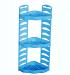 Полиця кутова ROSA 3-x рівнева (блакитн.)