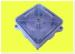 Розподільча коробка зовнішня 100*100 прозора кришка