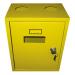 Шафка для газового лічильника без задн. стінки 6G4 жовта (метал. корпус) 280*210*325мм
