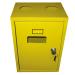 Шафка для газового лічильника з задн. стінкою G4 жовта (метал. корпус) 250*185*325мм
